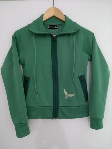 Casaco Verde Com Zíper Da Oakley