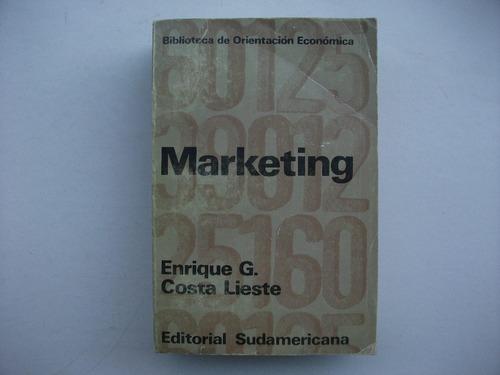 Marketing - Enrique G. Costa Lieste