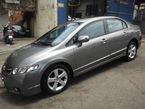 Honda Civic 2009 Lxs Flex Aut+blindado+baixa Km