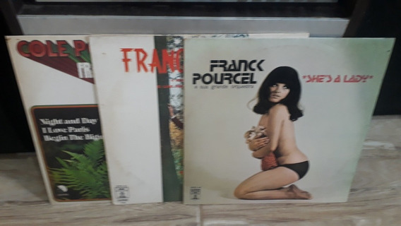 Lp Lote De 16 Disco Franck Pourcel