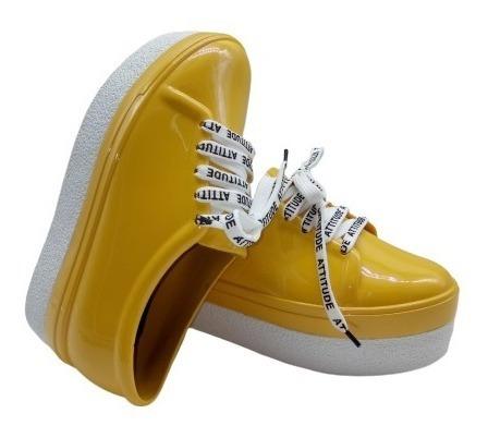 Zapatillas Para Lluvia Dama Urbanas Moda 2019 4002/dl