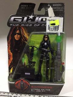 Muñeco Gi Joe Baroness The Rise Of Cobra Hasbro