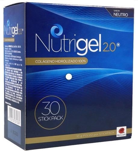 Dos Cajas Nutrigel 2.0 Colágeno Hi - Unidad a $150