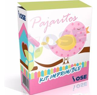 Kit Imprimible Pajaritos Nena + Envío Inmediato !!!