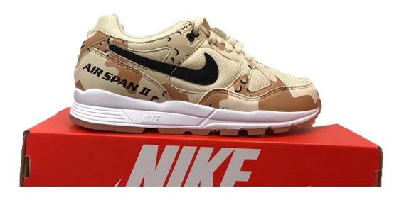 Tênis Nike Air Span Ii Prm Camuflado Original