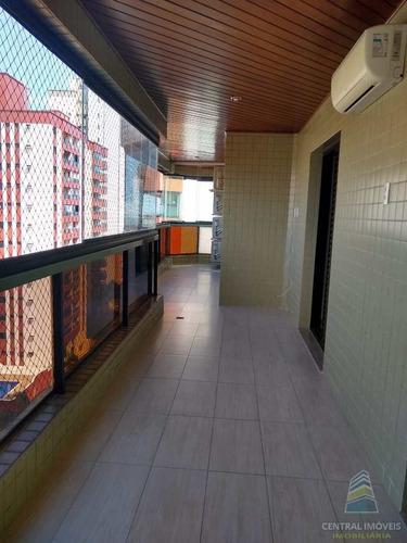 Imagem 1 de 30 de Apartamento Com 3 Dorms, Canto Do Forte, Praia Grande - R$ 650 Mil, Cod: 9342 - V9342