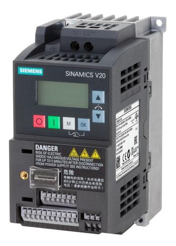Variador De Frecuencia Siemens Sinamics V20 1hp 220v Escalar