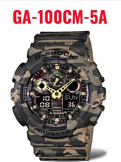 Relógio G-shock Ga-100cm-5adr Original