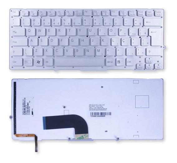 Teclado P/ Notebook Sony Vaio Vpc-sd1s2c Cn1 Marca Bringit