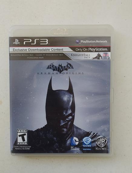 Jogo Batman Arkham Origins Ps3 - Mídia Física - Inglês