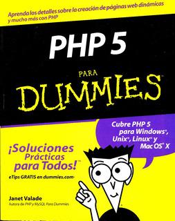 Php 5 Para Dummies - Janet Valade / St