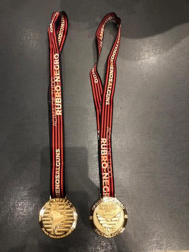 Pack Com 2 Medalhas Flamengo Campeão Libertadores 2019