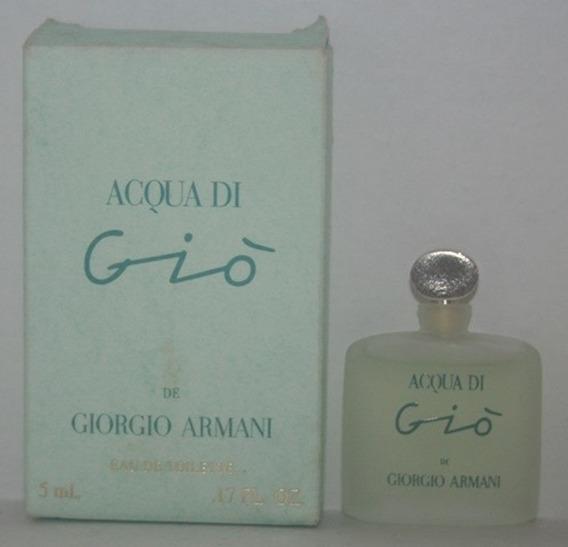 Miniatura De Perfume: Armani (giorgio) - Acqua Di Gio - 5 Ml