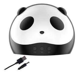 Lampara 36 W Foco Led Uñas Diseño De Panda