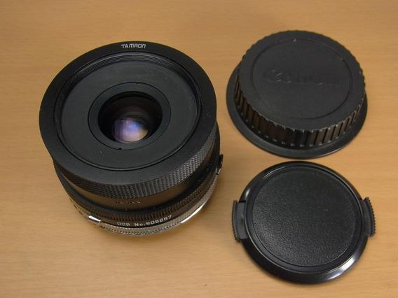 Tamron Adaptall 28mm F2.5 02b & Adapter Canon