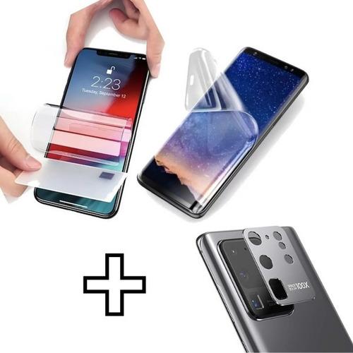Film Hidrogel Curvo Samsung  S20 S20+ Prot Metal Lee Huella