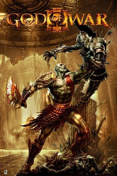 Mídia Física Ps4 God Of Wars 3 Remasterizado