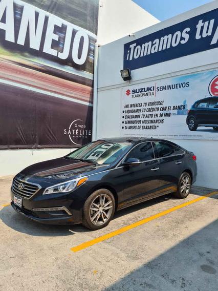 Hyundai Sonata 2017 5p Limited L4/2.4 Aut Nave