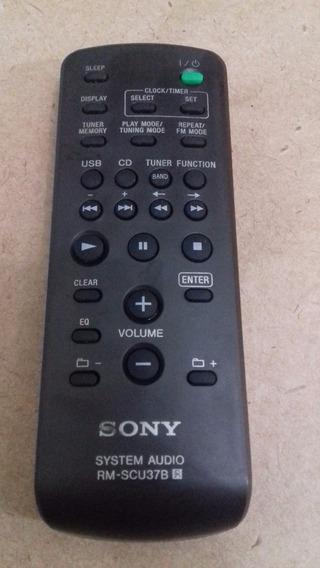 Controle Remoto Rm-scu37b Sony Original Usado