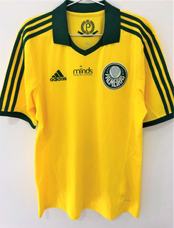 Camisa Palmeiras Brasileiro 2015 Eguren Amarela Jogo Único