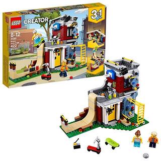 Kit Construcción Lego Creator. Parque Patinaje Modular 31081