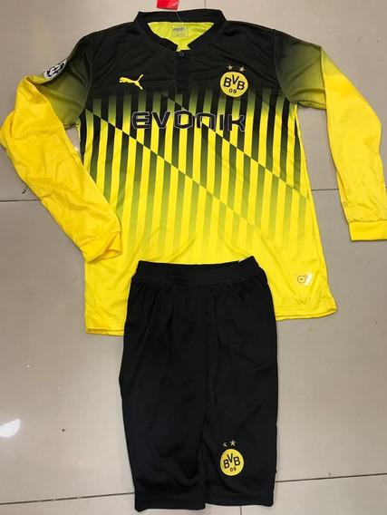 Uniforme Borussia Dortmund Manga Larga