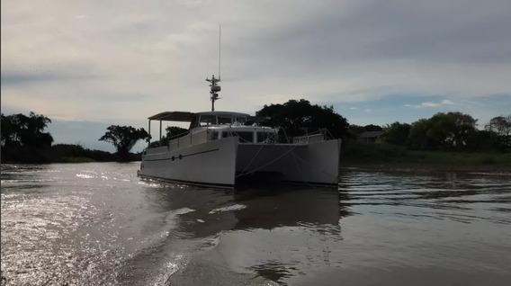 Catamaran Frers 12mx5mx1,75m 2 Motores Suzuki Df140 4t