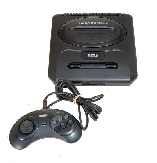 Console Sega Meda Drive 3 Com 1 Controle -sega Genesis