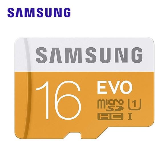Cartão De Memória Samsung Micro Sd 16g Tf