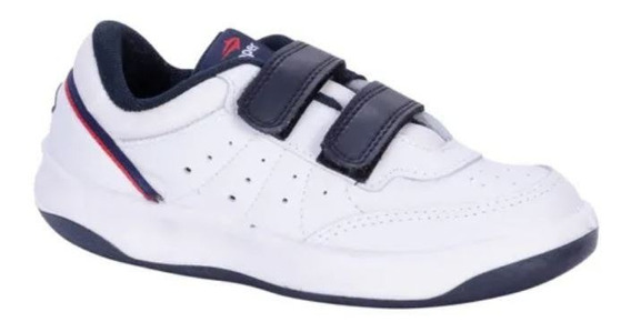 Zapatillas Topper X-forcer Kids Velcro-bco/azul-23576