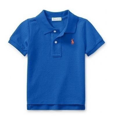 Camisa Polo Ralph Lauren Original Eua Tam 4 Até 18 Anos