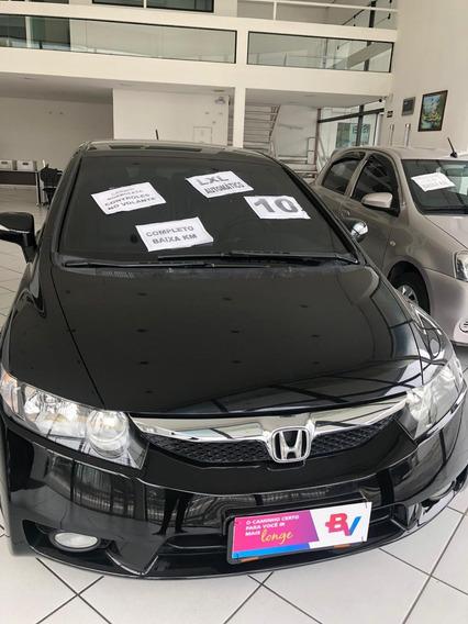 Honda New Civic Lxl 1.8 2010 Couro Automatico 4 Portas