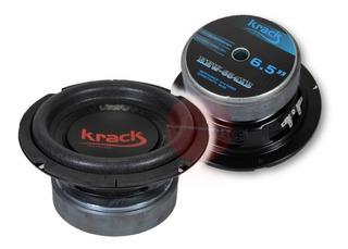 Woofer 6.5 180 Watts Krack Audio Doble Bobina Bajos Agencia