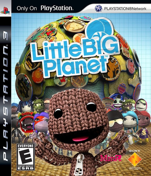 Jogo Little Big Planet Ps3 Dublad Português Mídia Física Lbp