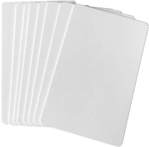 Tarjeta Pvc Cr80 Blanca Para Impresora Termica (10 Unidades)