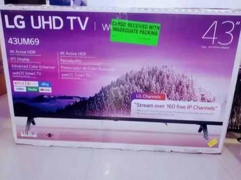 Televisor Lg De 43 Pulg, Smart Tv, 2019 4k, Somos Tienda