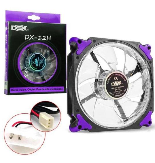 Cooler P/gabinete 120x120 Dex Dx-12h Colors