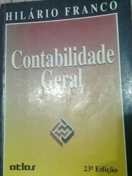 Livro Contabilidade Geral - Hilario Franco - 23° Edição