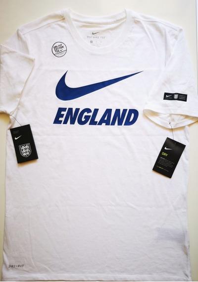 Playera Nike England Preseason Tee Royal Talla M