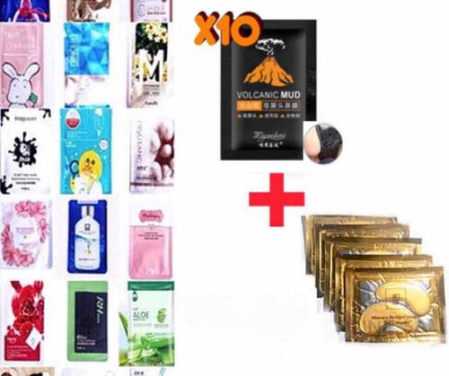 Imagen 1 de 9 de Mascarillas Coreanas *surtido Mixto* 50 Piezas X $320