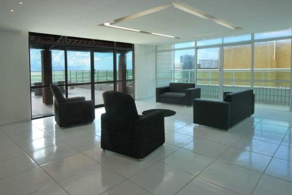 Apartamento Em Praia Do Futuro, Fortaleza/ce De 227m² 5 Quartos Para Locação R$ 590,00/dia - Ap145337