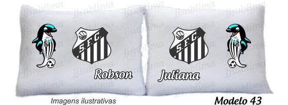 Capas De Fronhas Personalizadas Times Santos Vasco Outros