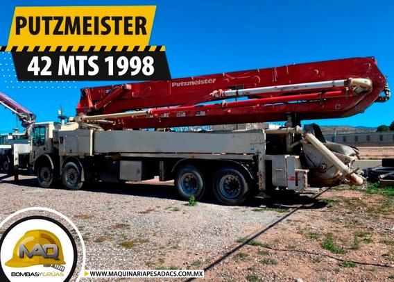 Bomba De Concreto Mack - Putzmeister 42 Mts 1998
