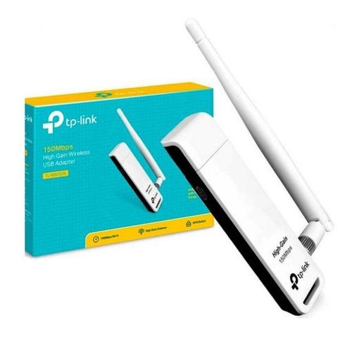 Placa Adaptador Usb Wireless Tp Link Wn 722n 150mb 1 Ant 2db