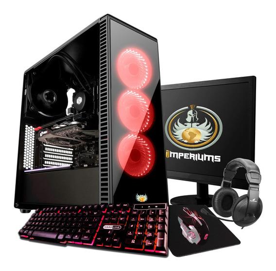 Pc Gamer Intel I5 3.1+memória Ram 8gb + Rx 580 8gb + Hd 1tb