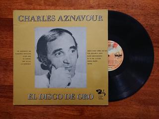 Vinilo Charles Aznavour - El Disco De Oro