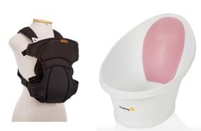 Canguru Para Bebê Passeio Infanti + Banheira Easy Tub Safety