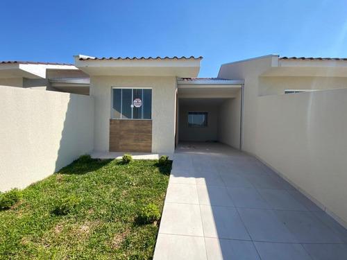 Casa Para Venda Em Ponta Grossa, Ronda, 3 Dormitórios, 1 Suíte, 2 Banheiros, 2 Vagas - L-554112d_1-1530176
