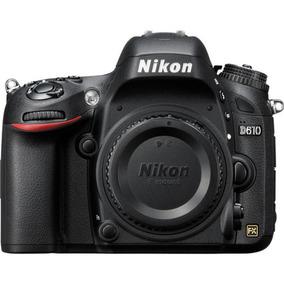 Câmera Nikon Dslr D610 - Somente O Corpo - Loja Platinum