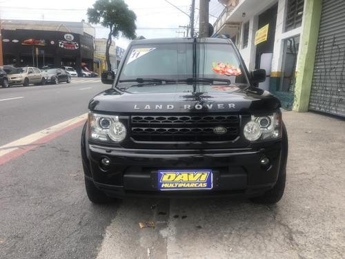 Land Rover Discovery 4 Black & White Blindada - Diesel